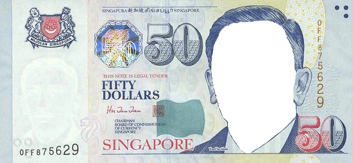 Singapore Dollar 50 Money | Festisite